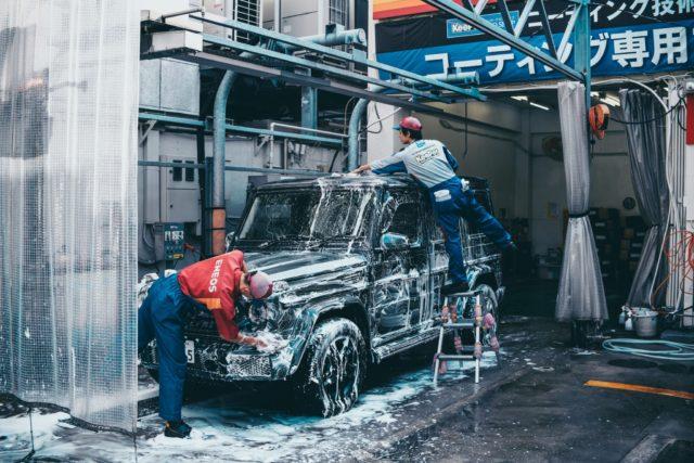 車の掃除・消臭