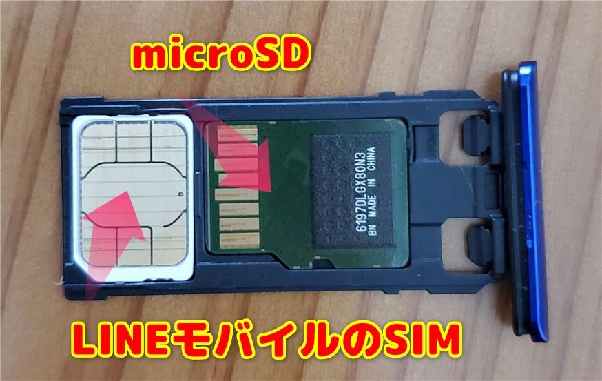 SIMのサイズはこのうちのどれかになります。「Xperia 1」は『nanoSIM』でした。